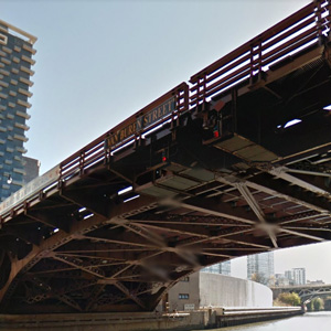 Van Buren Foot Bridge – Chicago, Illinois